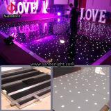 2016 Hete Gebruikt LEIDEN van Dance Floor van de Verkoop Draadloze Door sterren verlicht toont Huwelijk Dance Floor voor Staaf, Disco, enz.