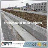 Хонингованный естественный Kerbstone камня/гранита для дорог/управляя дорогой