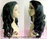 新しい方法巻き毛のかつらのRemyの女性の総合的な毛