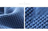 A forma azul caçoa a camisola feita malha roupa para meninos