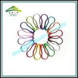 Pinos de segurança Shaped coloridos promoção da pera para o Tag do cair (P160217E)