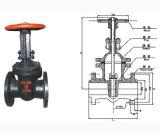 Válvula de porta do selo de pressão do aço inoxidável
