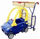 子供のシートのショッピングスーパーマーケット車のトロリー
