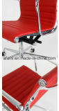 Silla de eslabón giratorio de cuero de Eames de los muebles de oficinas (RFT-A2014-S)