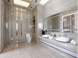 Плитка мрамора настила качества естественная каменная белая деревянная мраморный