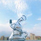 Großverkauf 6 Zoll - hoher Inline-Recycler KLEKS stellt Glaswasser-Rohr mit der 10mm Verbindung ein