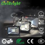 IP65 impermeabilizzano il proiettore sottile del LED con il GS