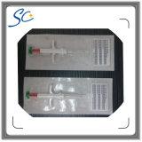 Etiqueta de cristal de la identificación del animal doméstico del microchip de ISO11784/5 1.4*8m m con la jeringuilla