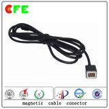 Cable de alimentación magnético de 6 pines Connetcor para cámara de bolsillo
