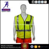 Het Goedkope Weerspiegelende Vest van uitstekende kwaliteit van de Veiligheid, het Breiende Weerspiegelende Vest van de Veiligheid
