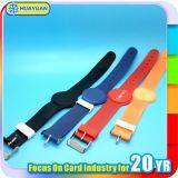 多色刷り125kHz Tk4100 EM4200 RFIDのプラスチックリスト・ストラップ