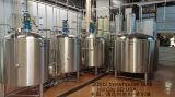 生ビールの発酵槽の生産機械