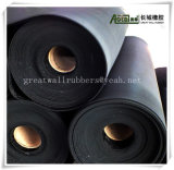Лист SBR резиновый, резиновый половой коврик, SBR резиновый Rolls ISO9001certificates