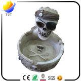 チャーミングな異なった種類の木の灰皿および水晶の灰皿および陶磁器の灰皿およびプラスチック灰皿および金属の灰皿のための灰皿