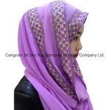 Hot Stamping película de material para el hijab