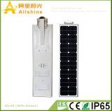 40W 3 ans de la garantie DEL de réverbères de panneau solaire d'énergie de réverbère solaire pour le management de projet