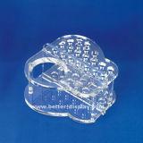 Изготовленный на заказ стеллаж для выставки товаров канцелярских принадлежностей пластическая масса на основе акриловых смол