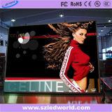 광고를 위한 실내 풀 컬러 조정 SMD LED 영상 스크린 표시판 (P3, P4, P5, P6)