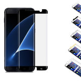 Vidrio Tempered para el protector curvado cobertura total de la pantalla del teléfono móvil de la galaxia S8plus 2.5D (XS-BLMEDGEP)