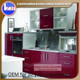 台所食器棚のための2016光沢のある木製のキャビネット