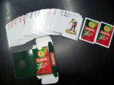 Tarjetas que juegan del póker de papel de Floryn para la promoción