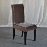 (SP-HC447)現代Veletによって装飾される高い背部レストランの椅子