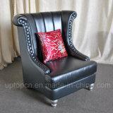 居間(SP-HC439)のためのPUの革家具製造販売業が付いている優雅な余暇の椅子
