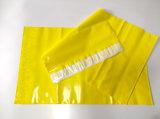 De buitengewoon brede Zak van de Verpakking van de Kleur van de Grootte Gele Plastic Verschepende met Verbinding