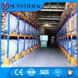 A maioria de cremalheira resistente do metal do armazenamento do armazém da solução popular do armazenamento