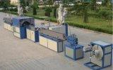 PVC 섬유에 의하여 강화되는 땋는 관 생산 라인