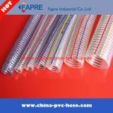 PVC Hose/PVC鋼線の補強された吸引のホース