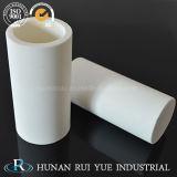 Tubo di ceramica 99% Al2O3 dell'ossido di alluminio per le alte applicazioni di refrattarietà