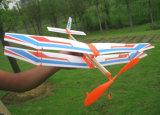 Jouet PT601 de modèle de rabot de Bi actionné par élastique d'aile de mousse