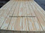 madera contrachapada de la base de la madera dura de la ranura de 6-18m m