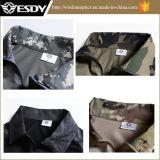 5 camisas al aire libre de los colores para la camiseta militar al aire libre Camo de los hombres
