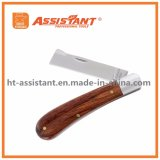 Couteau pliant en greffage et en bourgeons pour utilisation à gauche et à droite