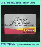 Impressão de cor quatro com o cartão padrão UV para o negócio