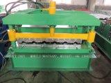 機械を形作る金属の屋根のリッジの帽子ロールか機械を形作る波形を付けられたロール