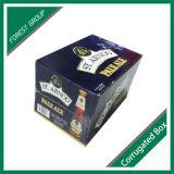 Rectángulo de almacenaje modificado para requisitos particulares del vino o de la cerveza de la impresión de la talla