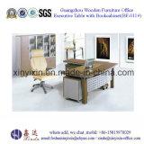 Mesa Ejecutiva de Guangzhou Madera Mueble de oficinas con Bookcabinet (BF-011 #)