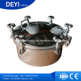 Cobertura de poço de pressão circular higiênica de aço inoxidável