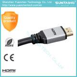 Cabo de nylon do Ethernet 1.4V HDMI da sustentação 3D da trança