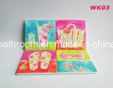 Sottobicchiere di ceramica di stile della spiaggia di estate per la decorazione della stanza