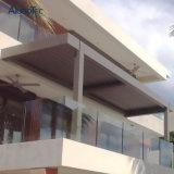 Pergola enduit de toit d'auvent de profil aérodynamique de poudre en aluminium de Gazebos