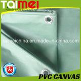 De UV Behandelde pvc Met een laag bedekte Dekking van de Vrachtwagen van het Geteerde zeildoek