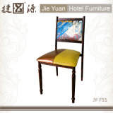 Chaise de meuble de bar en métal empilable (JY-F55)