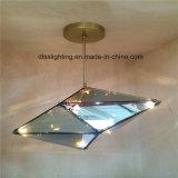 Luz nova do diodo emissor de luz do vidro do diamante inovativo do produto 2017