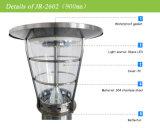 Iluminación de alta calidad CE Plataforma de iluminación con LED solar; Soporte pared luces solares; Cubierta ahuecada Iluminación Solar