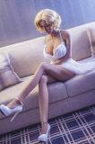 최신 성 소녀 165cm 성 인형 가득 차있는 해골 실리콘 인형