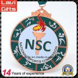 安いカスタムロゴの実行賞のスポーツの金属メダル